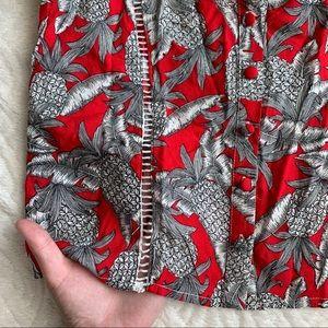 LF Tops - LF red palm print tank top